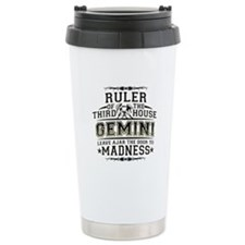 Gemini Madness Stainless Steel Travel Mug