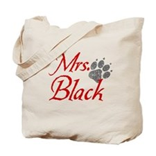 Mrs. Black - Distressed Tote Bag