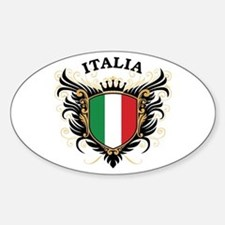 Italia Sticker (Oval)
