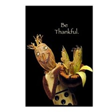 Domino Scarecrow Postcards (Package of 8)