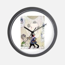 Kay Nielsen's Puss In Boots Wall Clock