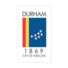 Durham - City of Medicine Decal