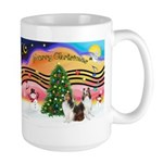 Xmas Music / 2 Shelties Large Mug