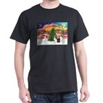 Xmas Music / 2 Shelties Dark T-Shirt
