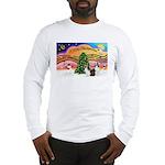 Xmas Music / 2 Shelties Long Sleeve T-Shirt