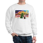 Xmas Music / 2 Shelties Sweatshirt