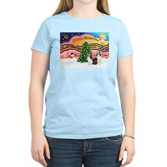 Xmas Music / 2 Shelties T-Shirt