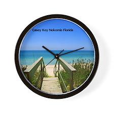 Nokomis Beach Wall Clock