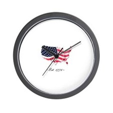 Cute United states constitution Wall Clock
