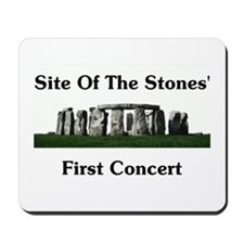 Site Of Stones' Concert Mousepad