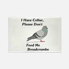 Please Don't Feed Me Breadcru Rectangle Magnet
