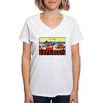 The Pike Women's V-Neck T-Shirt
