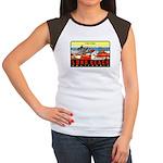 The Pike Women's Cap Sleeve T-Shirt
