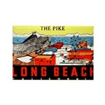 The Pike Rectangle Magnet (10 pack)