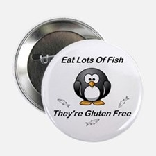 """Eat Lots Of Fish 2.25"""" Button"""