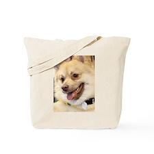 Cream German Spitz Tote Bag