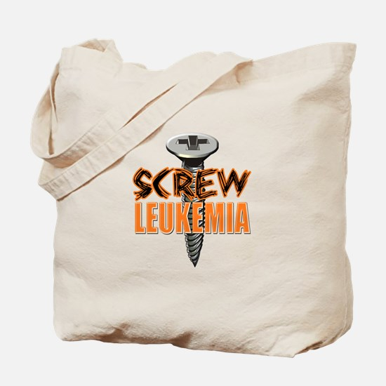 Screw Leukemia Tote Bag