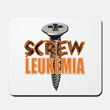 Screw Leukemia Mousepad