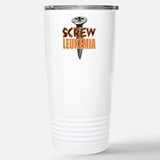 Screw Leukemia Travel Mug