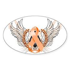 Awareness Tribal Orange Decal