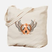 Awareness Tribal Orange Tote Bag