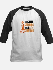 Still Standing I'm A Survivor Kids Baseball Jersey