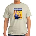 Rosie's Pro-Choice Ash Grey T-Shirt
