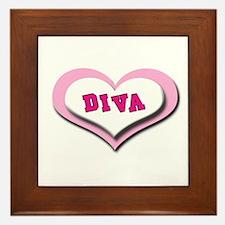 Diva Darlin' Framed Tile