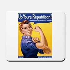 Rosie's Pro-Choice Mousepad