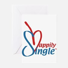 Happily SingleT Greeting Cards (Pk of 10)