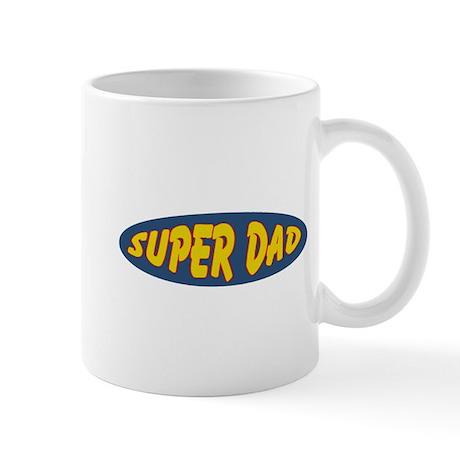 Super Dad (Oval) Mug