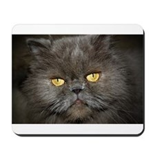 Charcoal Persian Cat Mousepad