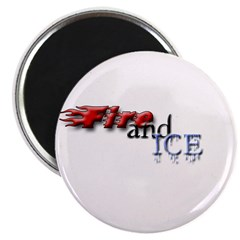 Fire and Ice Magnet