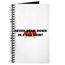Never beam down in a red shir Journal