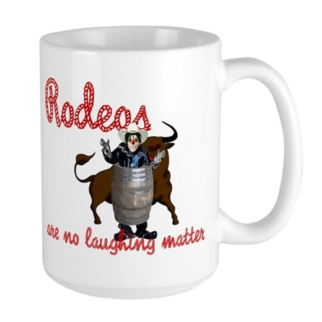 Don't Laugh Large Mug