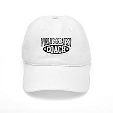 World's Greatest Coach Baseball Cap