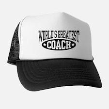 World's Greatest Coach Trucker Hat