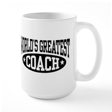 World's Greatest Coach Large Mug
