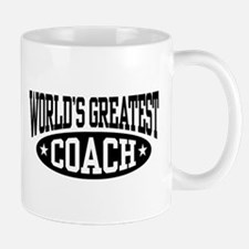 World's Greatest Coach Mug