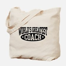 World's Greatest Coach Tote Bag