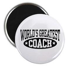 World's Greatest Coach Magnet