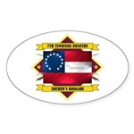 7th Tennessee Infantry Sticker (Oval)