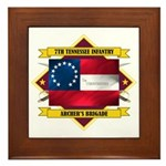 7th Tennessee Infantry Framed Tile