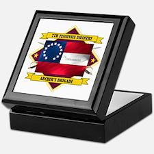 7th Tennessee Infantry Keepsake Box