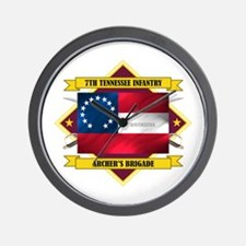 7th Tennessee Infantry Wall Clock