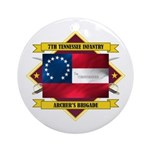 7th Tennessee Infantry Ornament (Round)