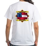 7th Tennessee Infantry White T-Shirt