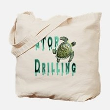 Stop Drilling Tote Bag