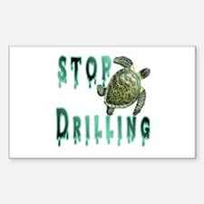 Stop Drilling Sticker (Rectangle)
