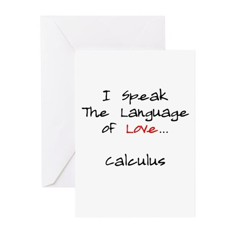 Calculus Love Language Greeting Cards (Pk of 20)